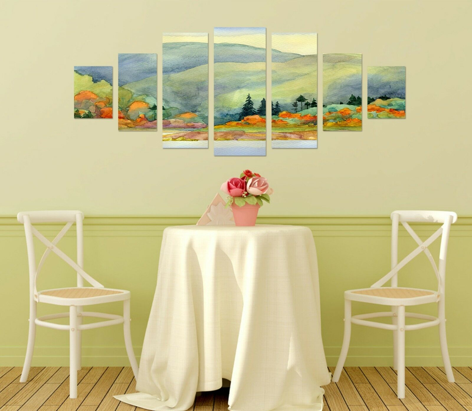 3D Painting Mountain 66 Unframed Print Wall Paper Decal Wall Deco Indoor AJ Wall