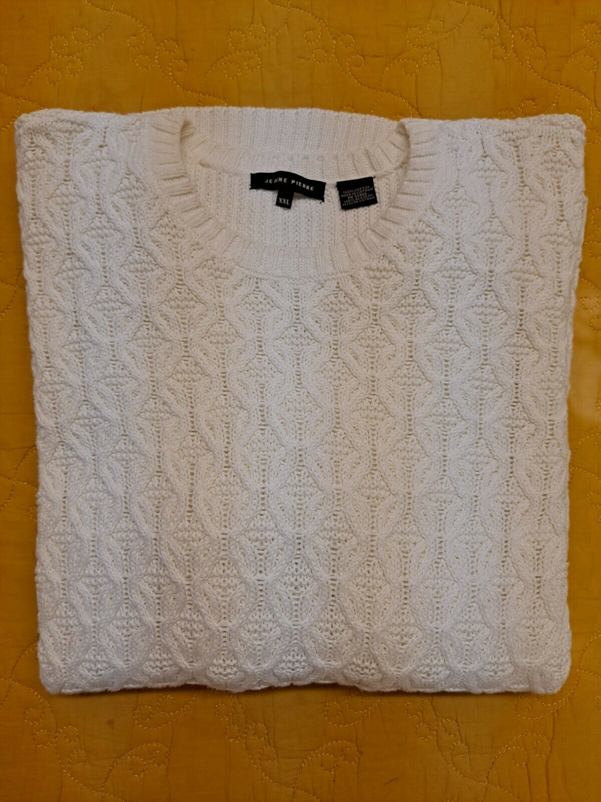 Women's Textured Knit Sweater Cable Knit Pullover… - image 2