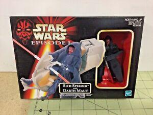 Star-Wars-Sith-Speeder-amp-Darth-Maul-sealed-free-shipping-84141