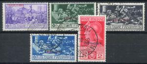 Tripolitania-1930-Sass-64-68-Usato-100-Ferrucci