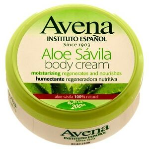 avena instituto espanol aloe vera body cream aloe crema savila 100 natural ebay. Black Bedroom Furniture Sets. Home Design Ideas