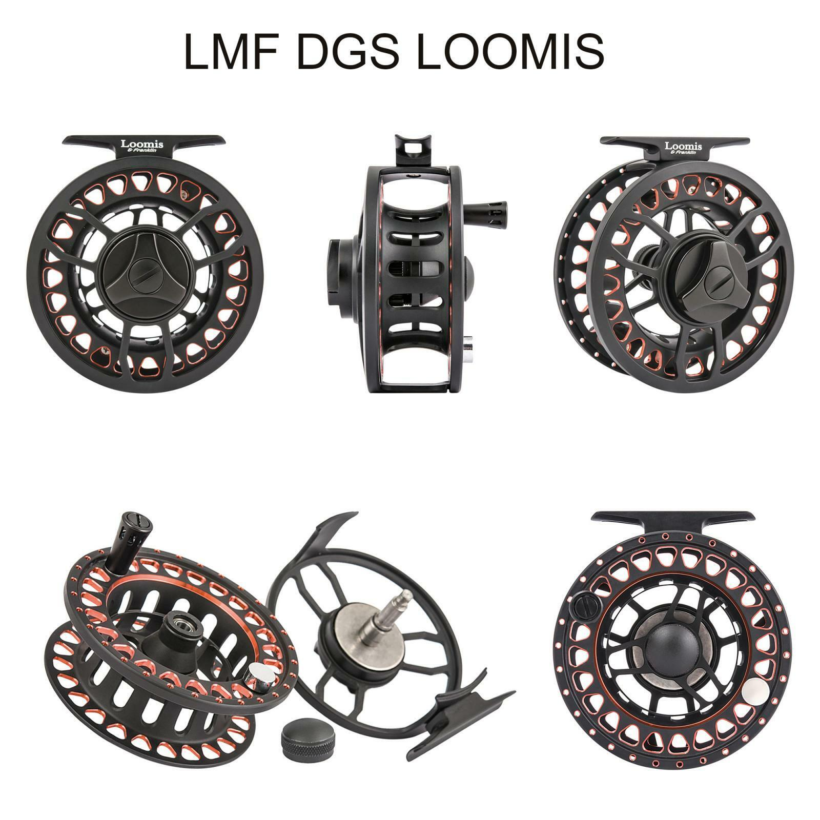 Loomis & Franklin Fly Fishing Reels DmF DGS mulinello pesca a mosca  PPG