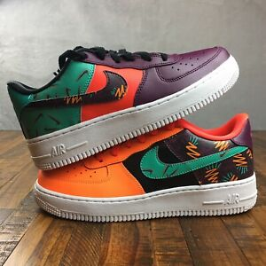 Details about Nike Air Force 1 LV8 GS Jade Orange Black AT3407 600 Youth Size 6.5 or Womens 8