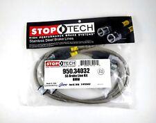 StopTech 950.34032 Stainless Steel Braided Brake Hose Kit