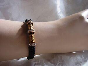 Makramee-Armband-Rondelle-Freundschaftsarmband-Handarbeit