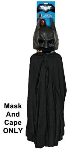 Adult DC Movie The Dark Knight Rises Batman Mask ///& Cape Set Costume Accessories