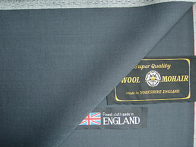 75% SUPER 100's WOOL AND 25% KID MOHAIR SUING FABRIC – 3.16 m. - MADE IN ENGLAND