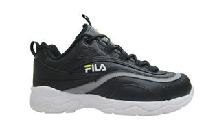 Kids Fila Ray - 3RM00525-007 - Black | eBay
