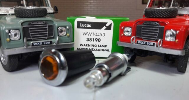 Oil Warning Led Light Classic Vintage Car Van Dash Visual Lamp Unit