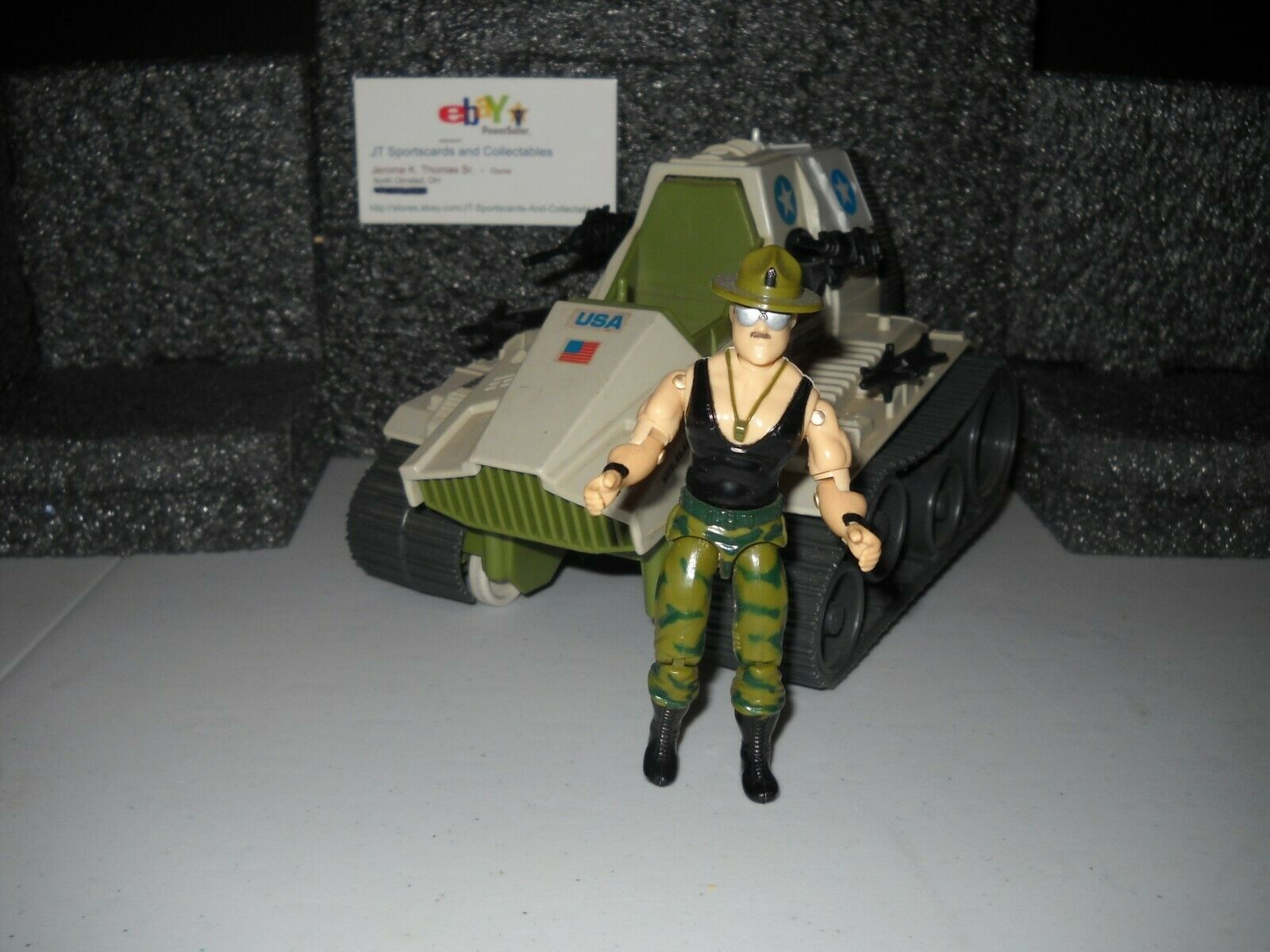 1986 VINTAGE GI JOE TRIPLE T WITH SGT. SLAUGHTER