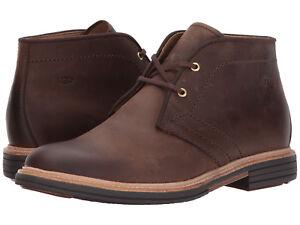 97cf99c555e Men UGG Dagmann Chukka Boot 1018684 Grizzly Leather 100% Original ...