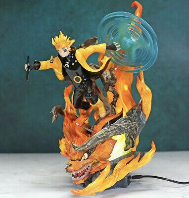 Naruto Shippuden Naruto Kurama Rasenshuriken Figure Ebay