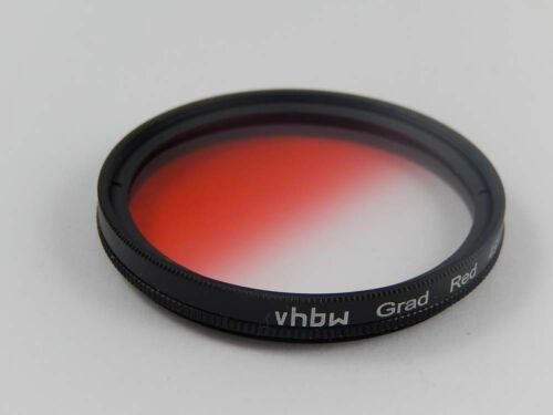 En color filtro de historial de interior y rosca externa rojo girable 55mm objetivamente rosca