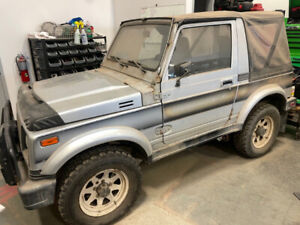 1986 Suzuki Samurai 4x4