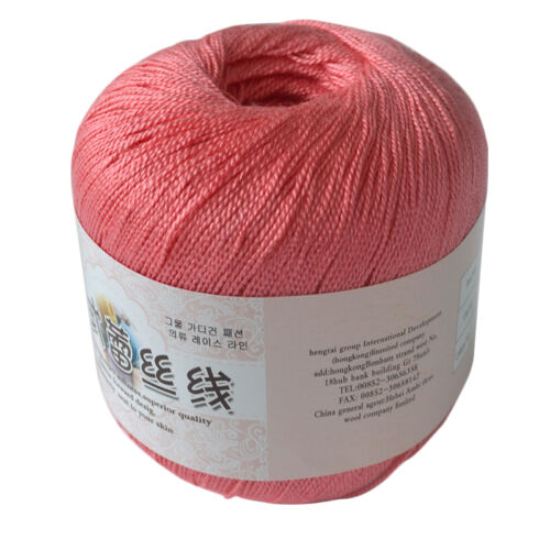 Cotton Yarn Thread Crochet Knitting High Quality for Embroidery Crochet Cup Mat