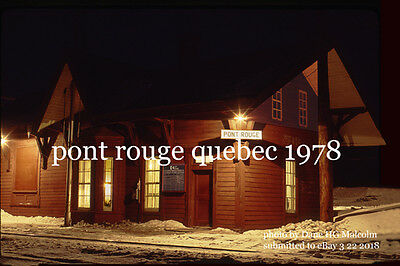 Canadian Pacific Rwy   Pont Rouge Quebec 1978 a