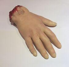 Super Realistic Severed Hand Prop Screen Quality Horror Halloween Gore Limb