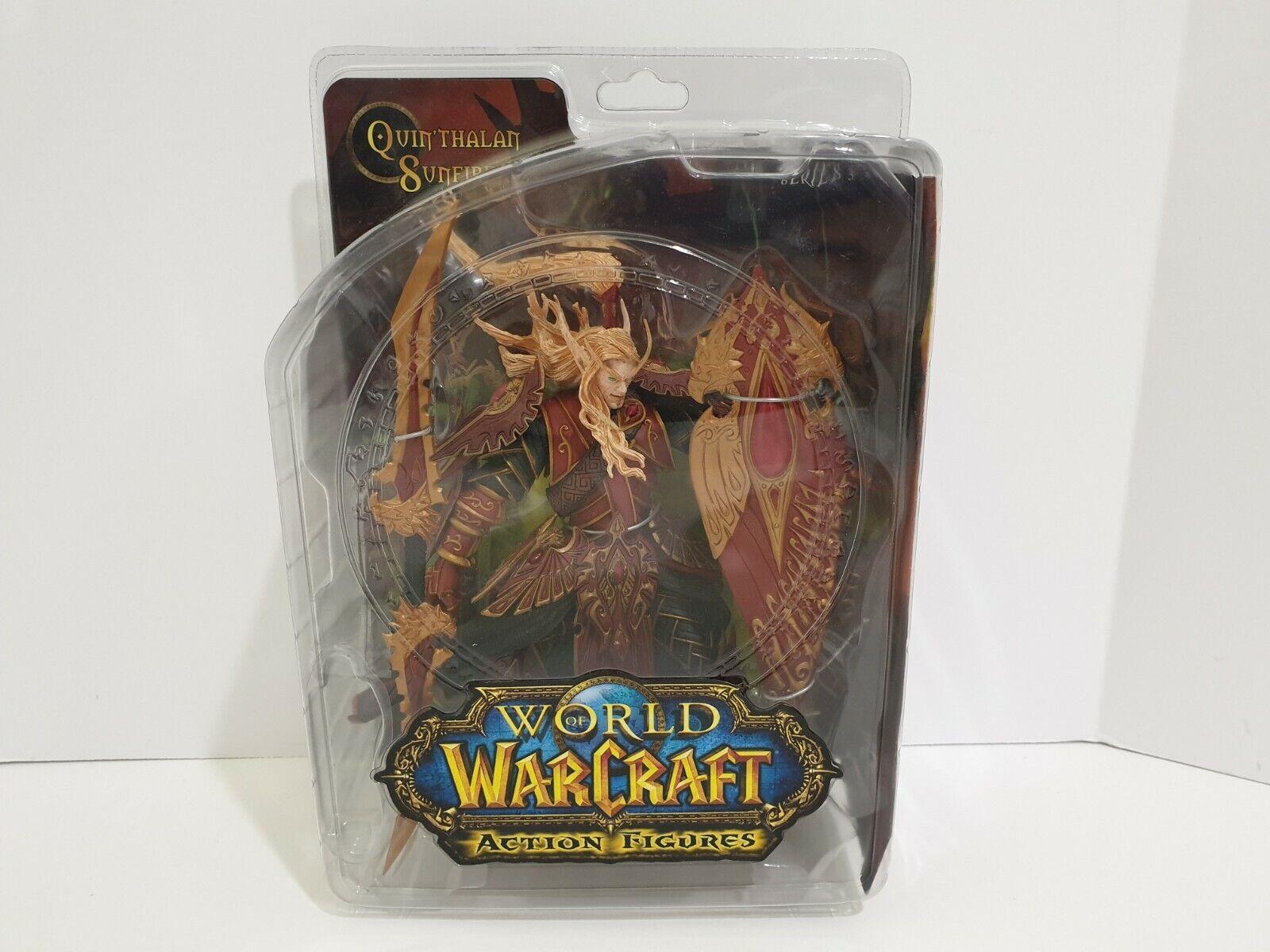 DC Comics World of Warcraft Series 3 Blood Elf Paladin Quin'Thalan cifra azione