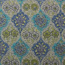 "WAVERLY MOONLIT SHADOWS SPICE FLORAL PAISLEY DAMASK MULTIUSE FABRIC BY YARD 54/""W"