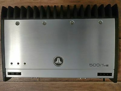 Used JL Audio Slash 500/1v2 1-Channel Car Amp in excellent cosmetic and working.