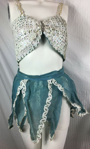 Vintage 40s Fairy Dance Costume Burlesque Showgirl