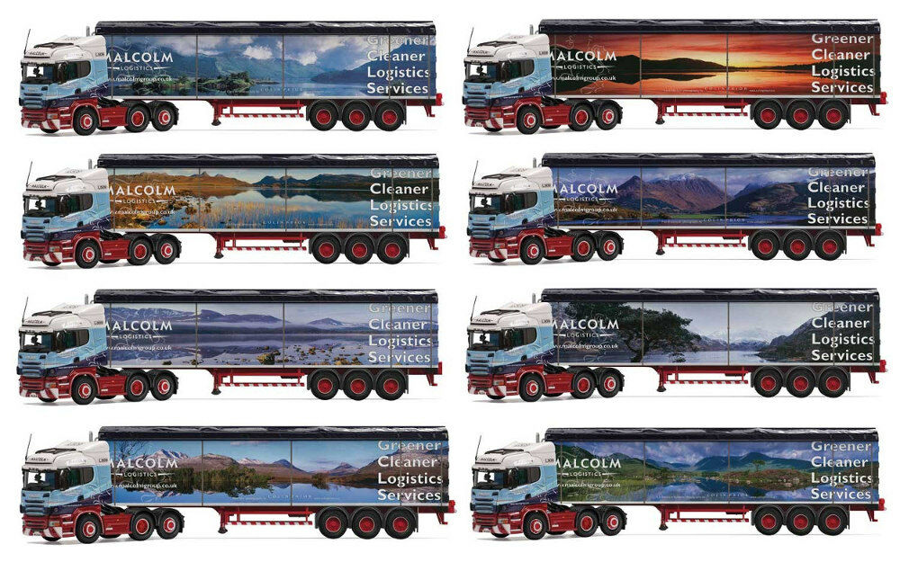 Corgi CC13799 - 1 50  Scania R Highline Malcolm Logistics Colin Prior Collection