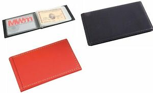 Porta carte di credito BANCOMAT  tessere 10 posti ecopelle 11x6,5x1 cm 2 COLORI