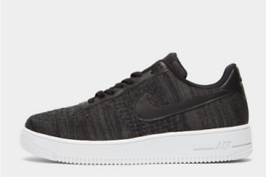 Nike-Air-Force-1-Flyknit-2-0-Black-White-Men-039-s-Trainers-All-Sizes-Limited-Stock