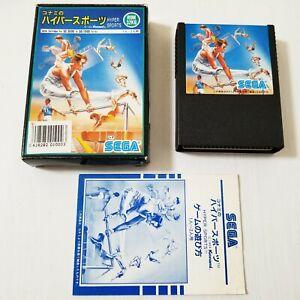 Sega SG-1000 SC-3000 Konami HYPER SPORTS 1984 Japan 0531A8