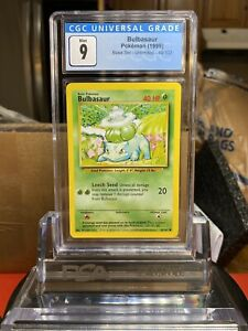 BASE-SET-1999-Pokemon-Game-Bulbasaur-CGC-9-MINT-PSA-BGS-WOTC-SA7