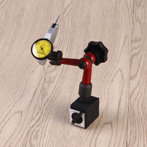 Dial Test Indicator DTI jauge Base Magnétique Support métrique Précision horloge Gauge