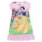 Girls Kids Mickey Minnie Pajamas Night Shirt Sleepwear Swing Dress Top Age 2-10Y