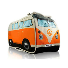ORANGE VW Volkswagen Split Screen Kombi Bus Camper Van Dopp Kit Travel Wash Bag