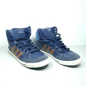 Mens Adidas Neo Cacity Mid Blue Shoes
