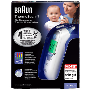 101037530 BRAUN ThermoScan 7 Infrarot-Ohr-T