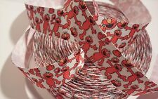 "Elmo inspired 1"" Grosgrain Ribbon - By The Yard - USA Seller"