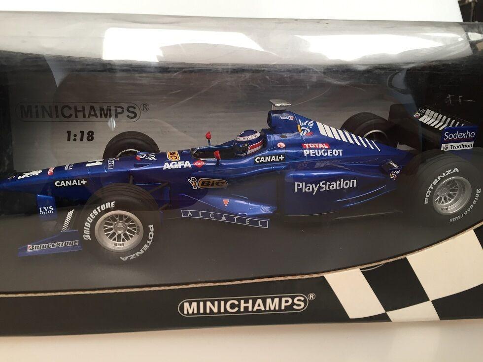 1 18 Prost Peugeot AP 01 O.Panis Minichamps