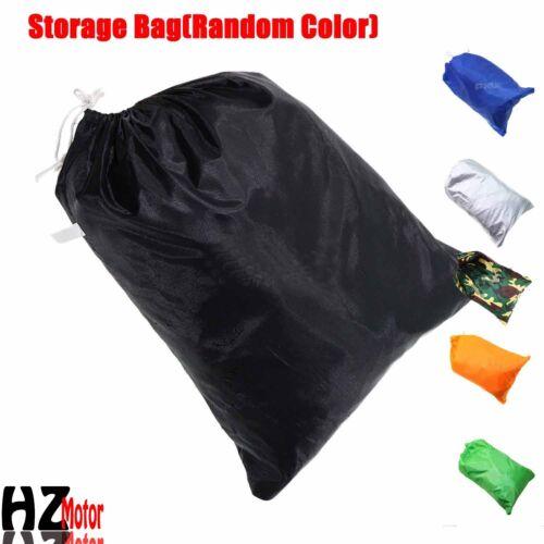 "XXL 104/"" Motorcycle Cover Storage Waterproof Outdoor Rain Dust Sun UV Protector"