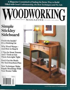 Popular Woodworking Magazine Simple Stickley Sideboard Warped Wood