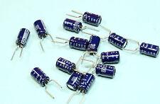 100 X Rubycon 10uf 50v Axial Elektrolyt Kondensator Ce-W