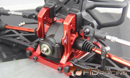 FID CNC alloy rear centre diff bracket for losi dbxl MTXL 2pcs