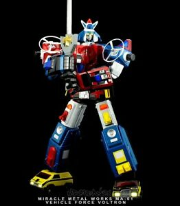 Miracle-Metal-Works-Voltron-Vehicle-Diecast-GX-88-Soul-of-Chogokin-Dairugger-XV