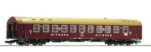 ROCO-64985-OSShD-Tipo-Y-DR-livrea-rossa-scritte-MITROPA-bianche-senza-scritte