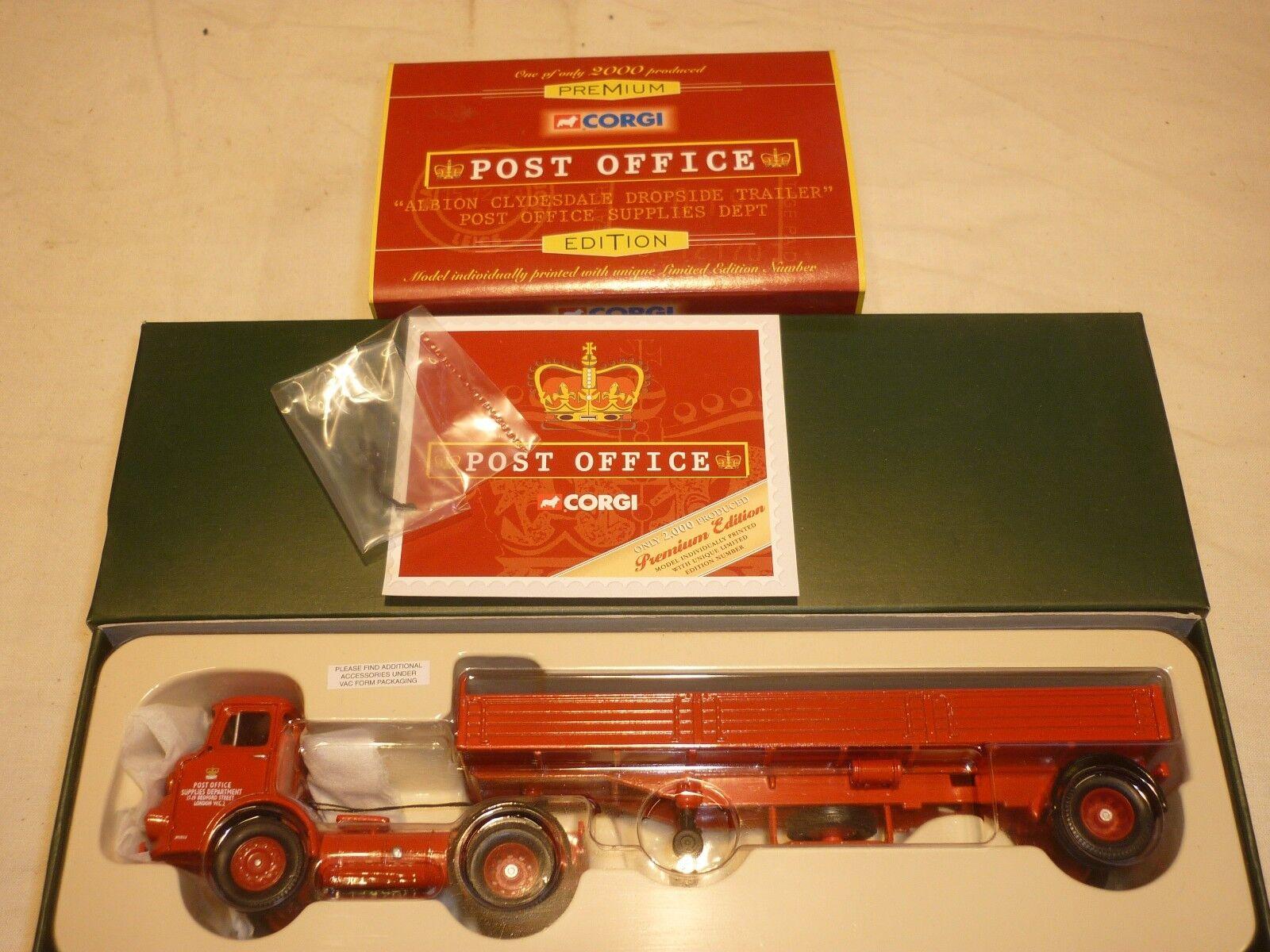 Corgi 23802 Premium editions. Albion Clydesdale   post office supplies