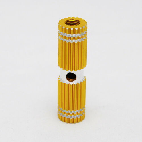 2 PCS Gold Alloy Foot Pegs for Fixed Gear Bike Bicycle Axle