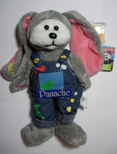 Beanie Kids Splats The Painter Bunny Bear -  fdf0c98801b