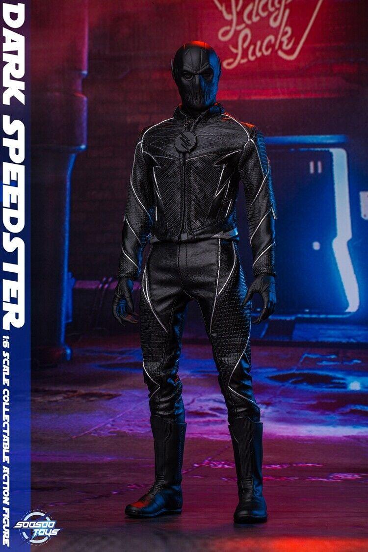El ultimo 2018 SoosooJuguetes SoosooJuguetes SoosooJuguetes SST010 1 6 Flash oscuro Speedster figura 12  conjunto de muñeca de modelo de móvil  directo de fábrica