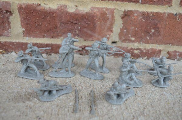 Cunnyngham Confederate 44th Tennessee Infantry Civil War Toy Soldiers