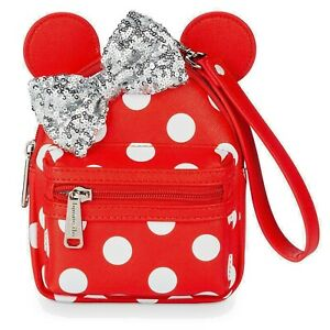 Minnie Mouse Bow Backpack Wristlet  - Clutch by Loungefly