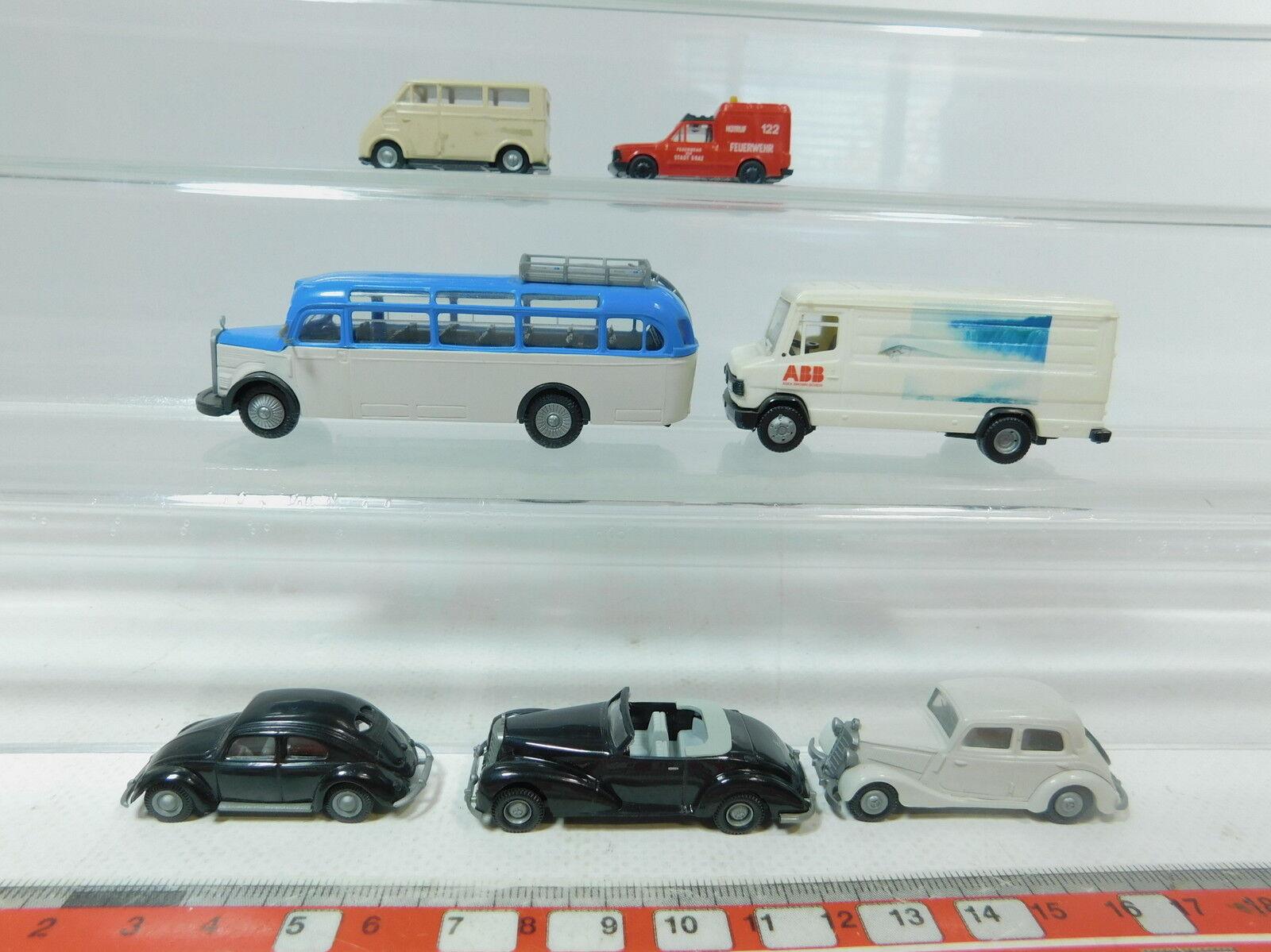 AZ480-0,5x Praline H0 (1 (1 (1 87) Modell  MB 507 D+O 3500+170+300+Fiat+DKW etc c9e14e